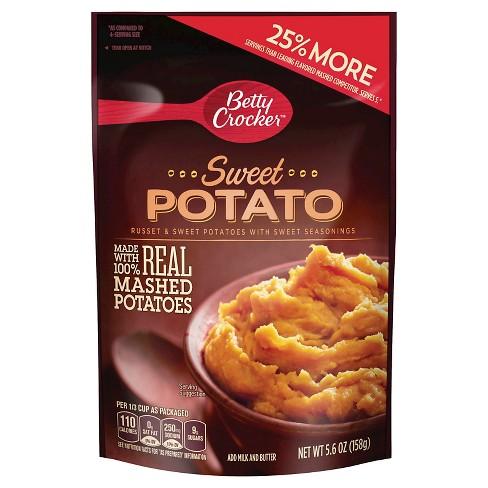 Betty Crocker Mashed Potato Sweet Pouch 5.6 oz - image 1 of 3