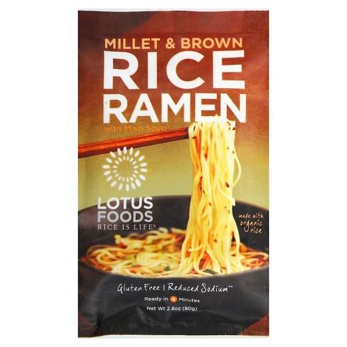 Lotus Millet and Brown Rice Ramen 2.8-oz. - image 1 of 2