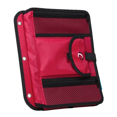 Case-it 5-Tab Expanding File Insert, Red