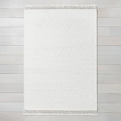 2' x 3' Pattern Stripe Area Rug Sour Cream - Hearth & Hand™ with Magnolia