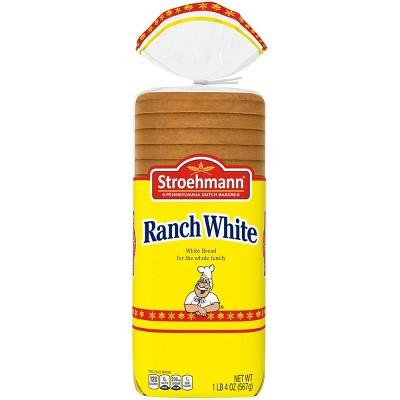 Stroehmann Ranch White Bread - 20oz
