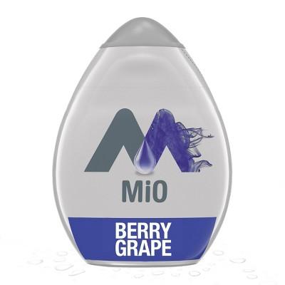 MiO Berry Grape Liquid Water Enhancer - 1.62 fl oz Bottle