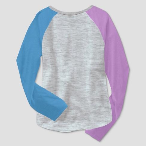 10bdf4bc7066e0 Girls  My Little Pony Rainbow Dash Long Sleeve T-Shirt - Heather Gray    Target