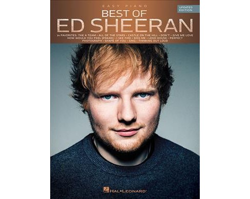 Best of Ed Sheeran : Easy Piano -  Updated (Paperback) - image 1 of 1