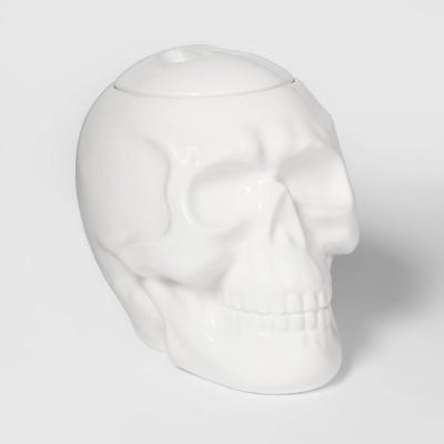 Skull Ceramic Halloween Candy Jar - Hyde & EEK! Boutique™