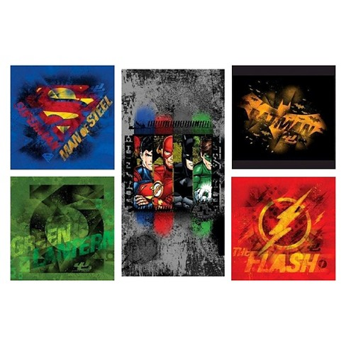 Justice League® Canvas Print - Set of 5 - image 1 of 6