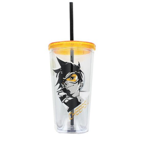 Just Funky Overwatch Logo 20oz Carnival Cup - image 1 of 2
