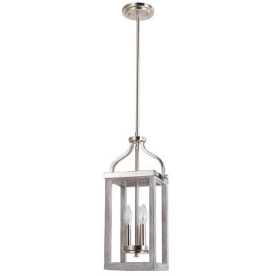 Montrose 3 Light Pendant Silver - EGLO