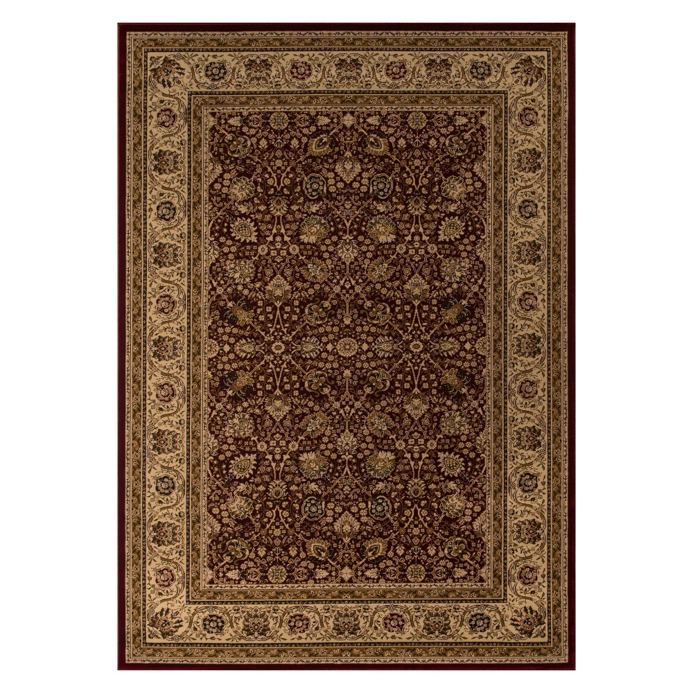 Image of 11'3X15' Holly Loomed Area Rug Red - Momeni