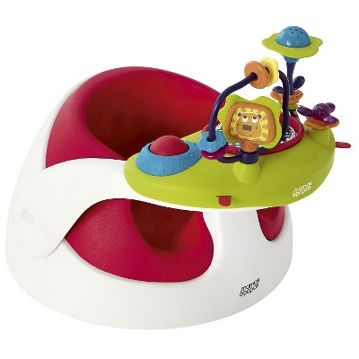 Mamas & Papas Baby Snug & Activity Tray Infant Positioning Seat - Red