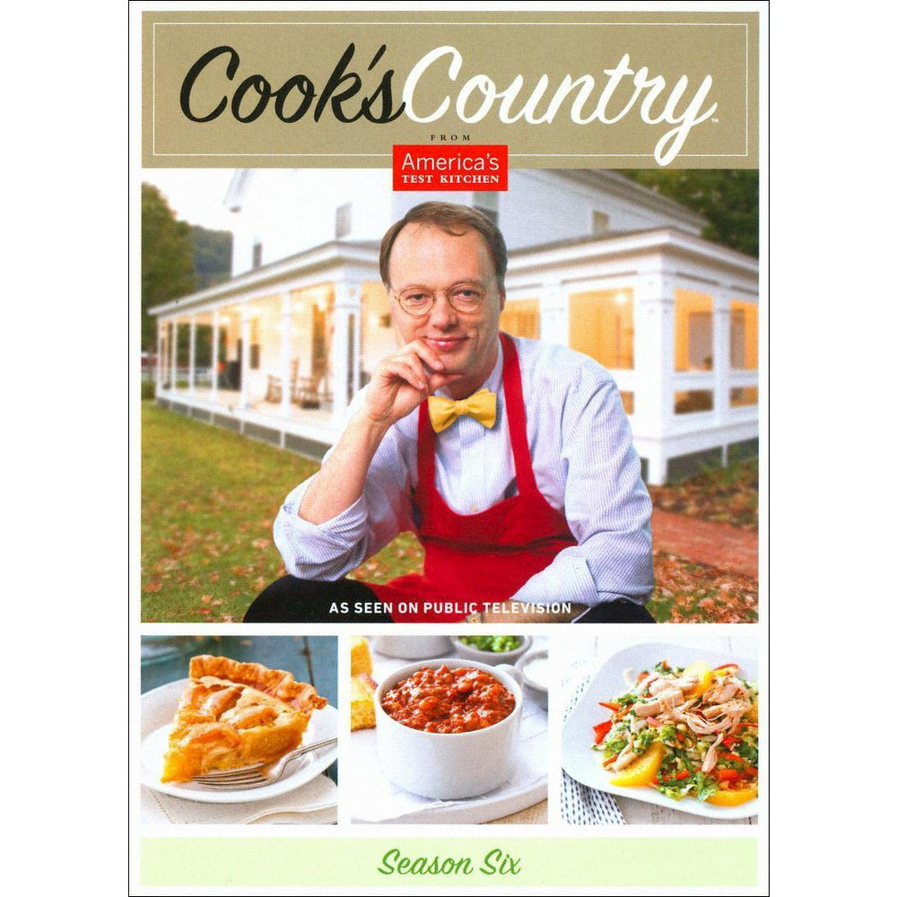 Cook's Country:Season 6 (Dvd)