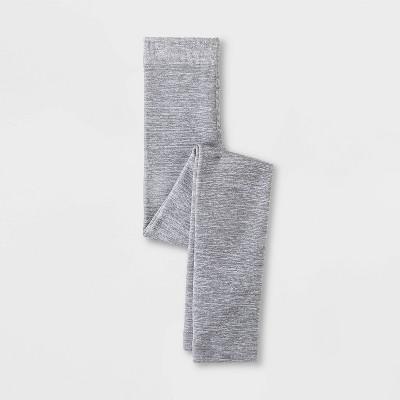 Girls' Fleece Tights - Cat & Jack™ Gray