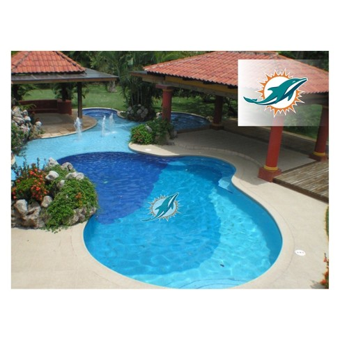 NFL Miami Dolphins Large Pool Decal - image 1 of 1