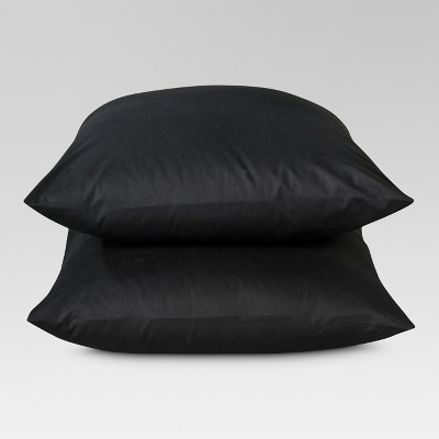 Ultra Soft Pillowcase (Standard)Black 300 Thread Count - Threshold™