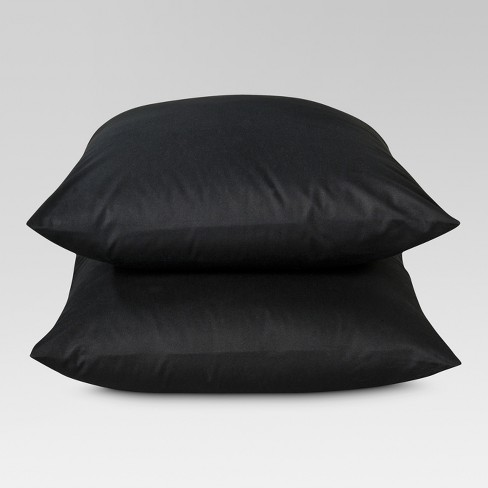 Ultra Soft Pillowcase (King) Black 300 Thread Count - Threshold™ - image 1 of 1