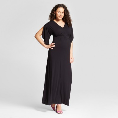 Duster Short Sleeve Knit Maternity Dress - Isabel Maternity by Ingrid & Isabel™