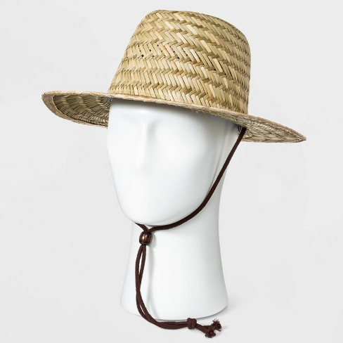 Men's Straw Hat - Goodfellow & Co™ Natural - image 1 of 2