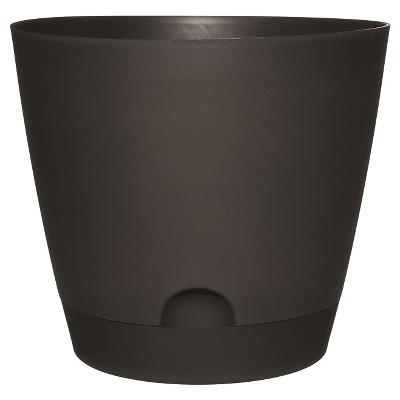 12 D Self Watering Planter Black - Room Essentials™