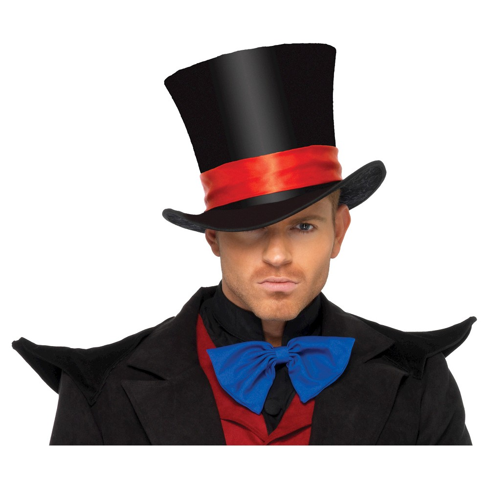 Top Hat Velvet Black, Women's