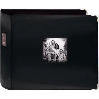 "Pioneer 3-Ring Sewn Leatherette Album 12""X12"""