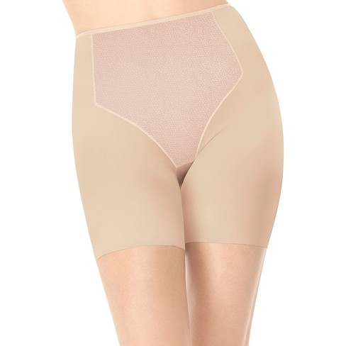 ASSETS® by Sara Blakely a Spanx® Brand Women's Firmers Mid-Thigh 1952 - Nude XXL - image 1 of 3