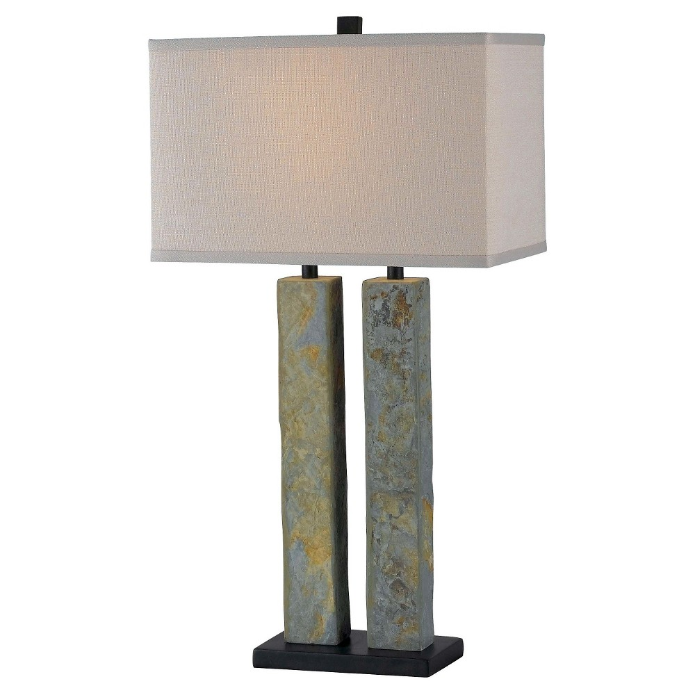 Kenroy Home Table Lamp (Lamp Only) - Slate (Grey)
