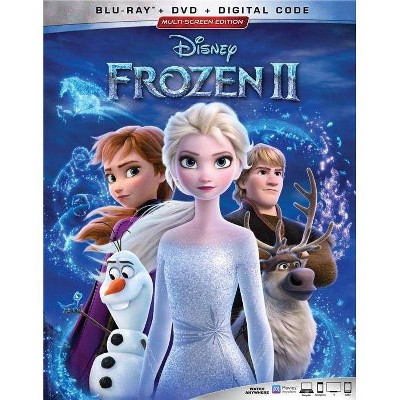 Frozen II (Blu-Ray + DVD + Digital)