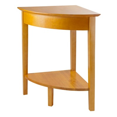 Studio Corner Table - Honey - Winsome