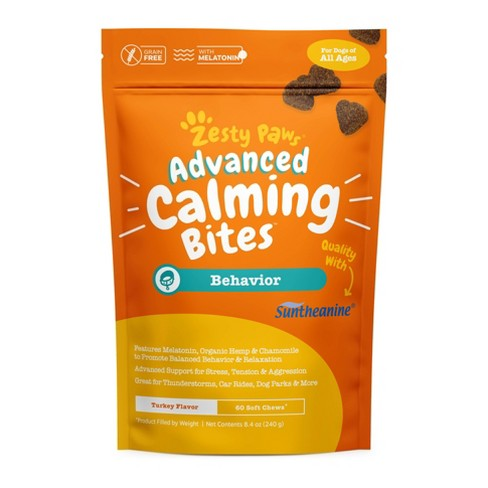 Zesty Paws Calming Bites Vitamins & Supplements for Dogs - 60ct - image 1 of 4