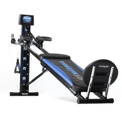 Total Gym Xls Men S And Women S Universal Total Body Home Gym Workout Machine With Ab Crunch Bench And More Target