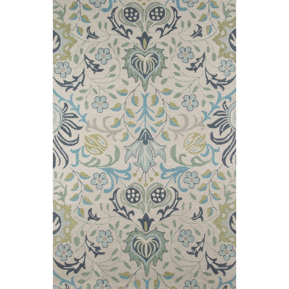 Ashlei Floral Rug - Blue - ( 8'x10') - Momeni