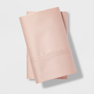 King 500 Thread Count Tri-Ease Pillowcase Set Heirloom Pink - Project 62™ + Nate Berkus™