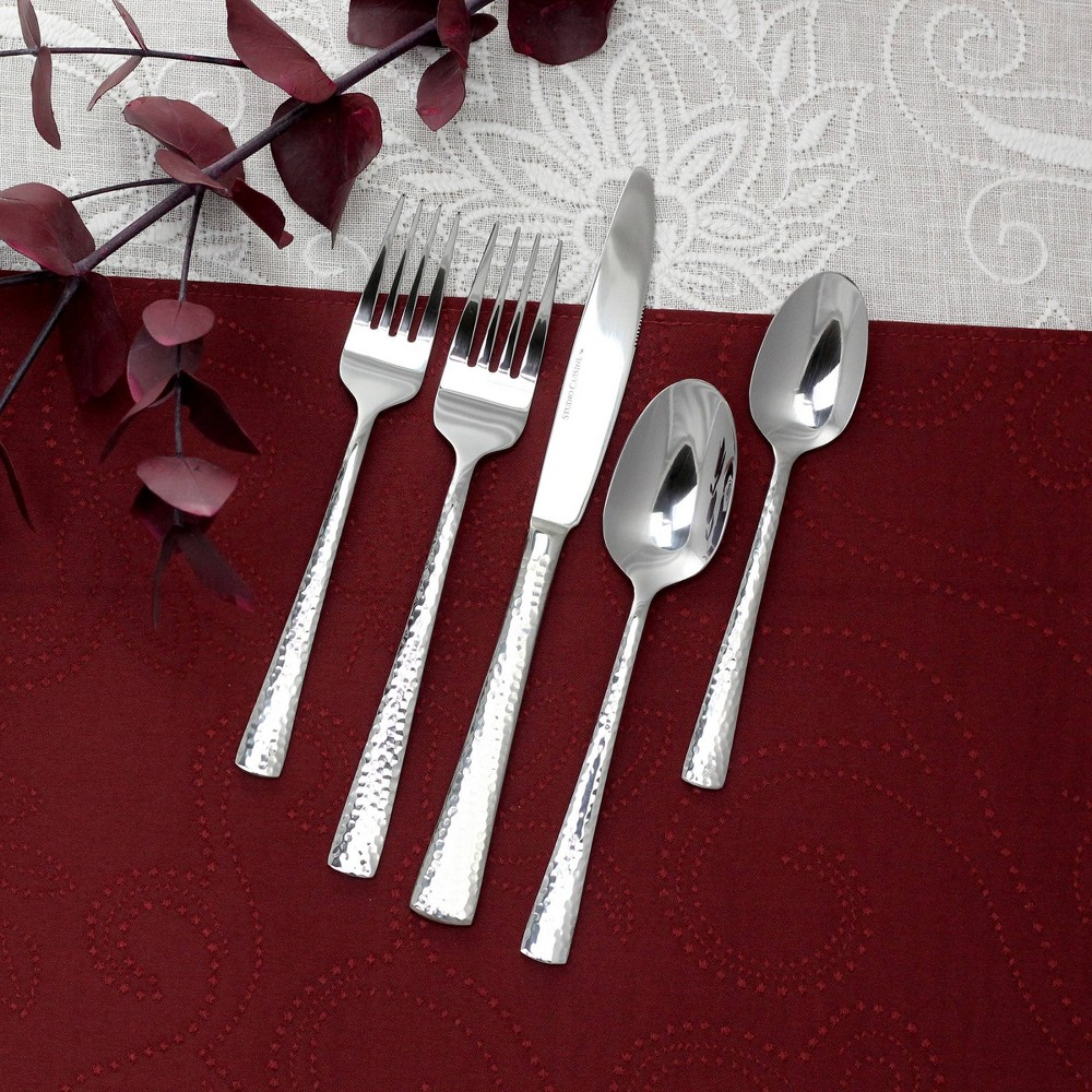 Image of 20pc Stainless Steel Mayson Silverware Set - Studio Cuisine