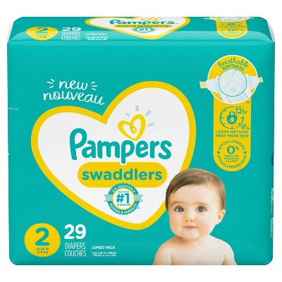 Pampers Swaddlers Diapers - Size 2 - 29ct