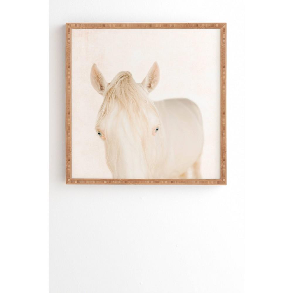 30 34 X 30 34 Ingrid Beddoes Bella Bamboo Framed Wall Art Deny Designs