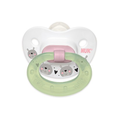 NUK Day to Night 2pk Baby Pacifier - Pink
