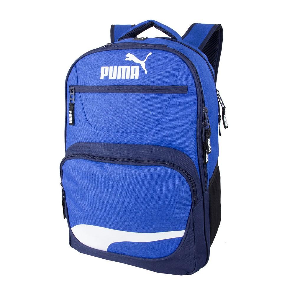 "Image of ""Puma 17"""" Squad Backpack - Blue, Black Blue"""