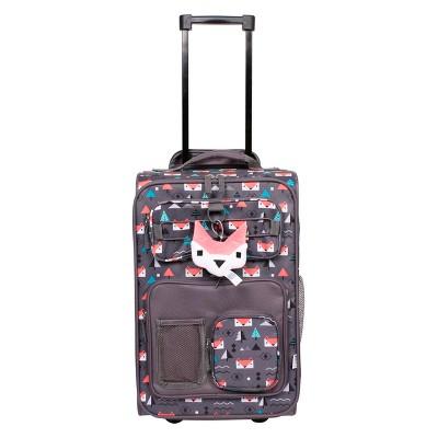 "Crckt 18"" Kids' Carry On Suitcase - Fox"
