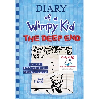The Deep End: Diary of a Wimpy Kid Book #15 - Target Exclusive Edition - by Jeff Kinney (Hardcover)