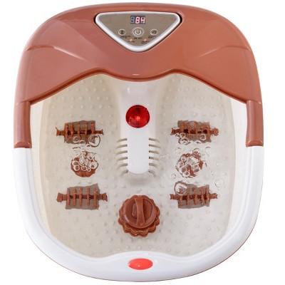 Costway Foot Spa Bath Massager LCD Display Temperature Control Heat Infrared Bubbles
