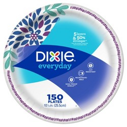 "Dixie Everyday 10 1/16"" Paper Plates"