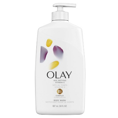 Olay Age Defying Body Wash with Vitamin E - 30 fl oz