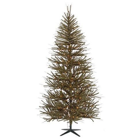 3ft Pre-Lit Vienna Twig Artificial Christmas Tree with Metal Tree Stand and Clear Lights - image 1 of 1