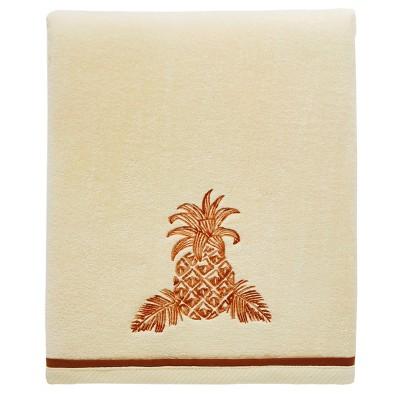 Batik Pineapple Bath Towel Orange - Tommy Bahama
