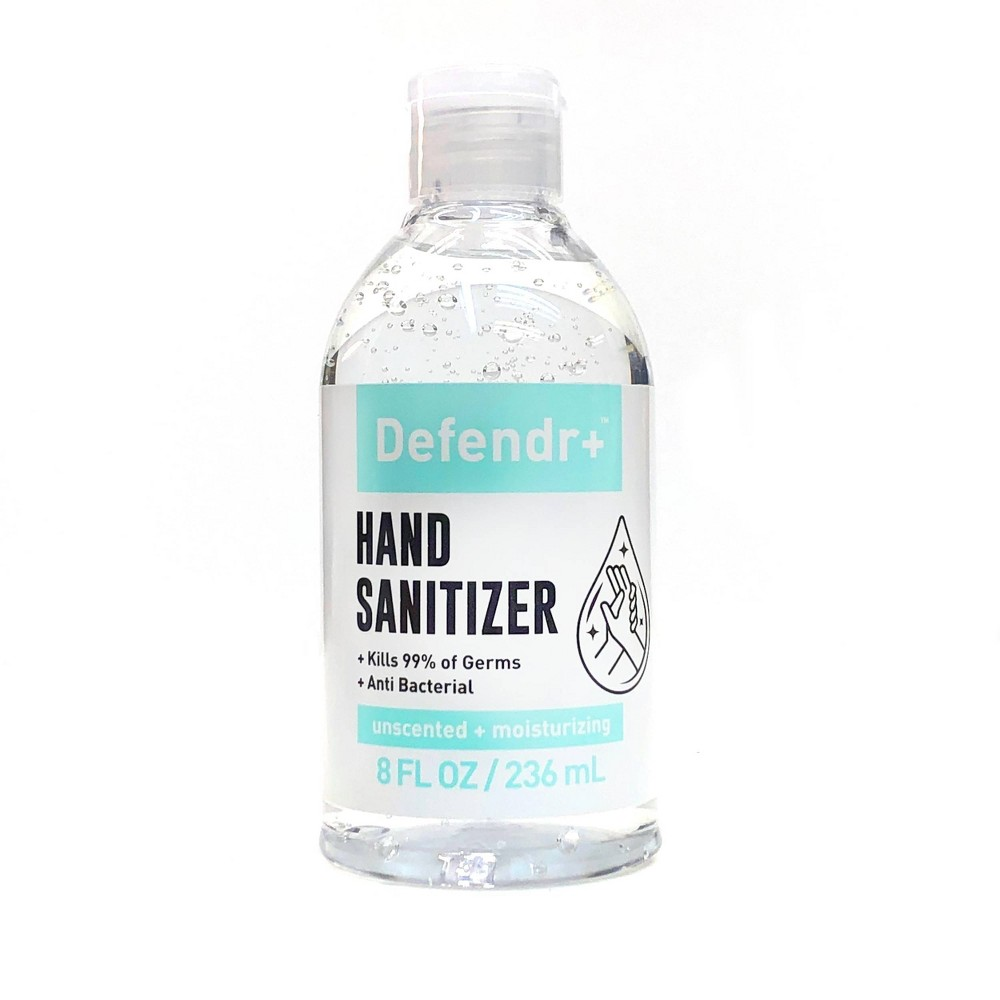 Defendr Anti Bacterial Hand Sanitizer 8 Fl Oz