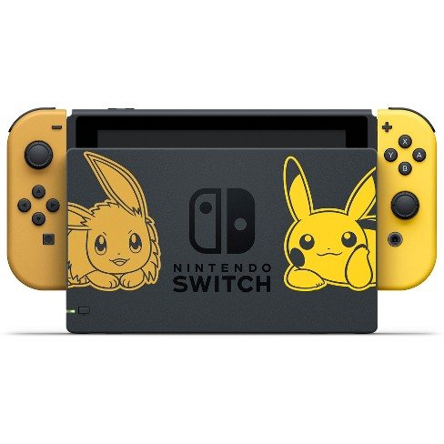 Nintendo Switch Pikachu Eevee Edition With Pokemon Let S Go