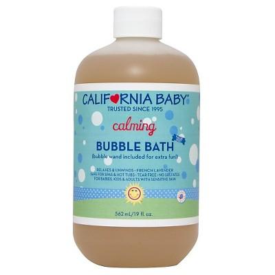 California Baby Calming Bubble Bath - 19oz