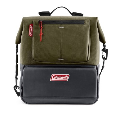 Coleman Can Dispensing 16qt Backpack Cooler - Olive