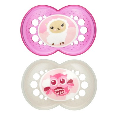 MAM Original Pacifier, 16+ Months - 2ct Pink