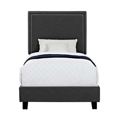 Emery Upholster Platform Bed - Picket House Furnishings